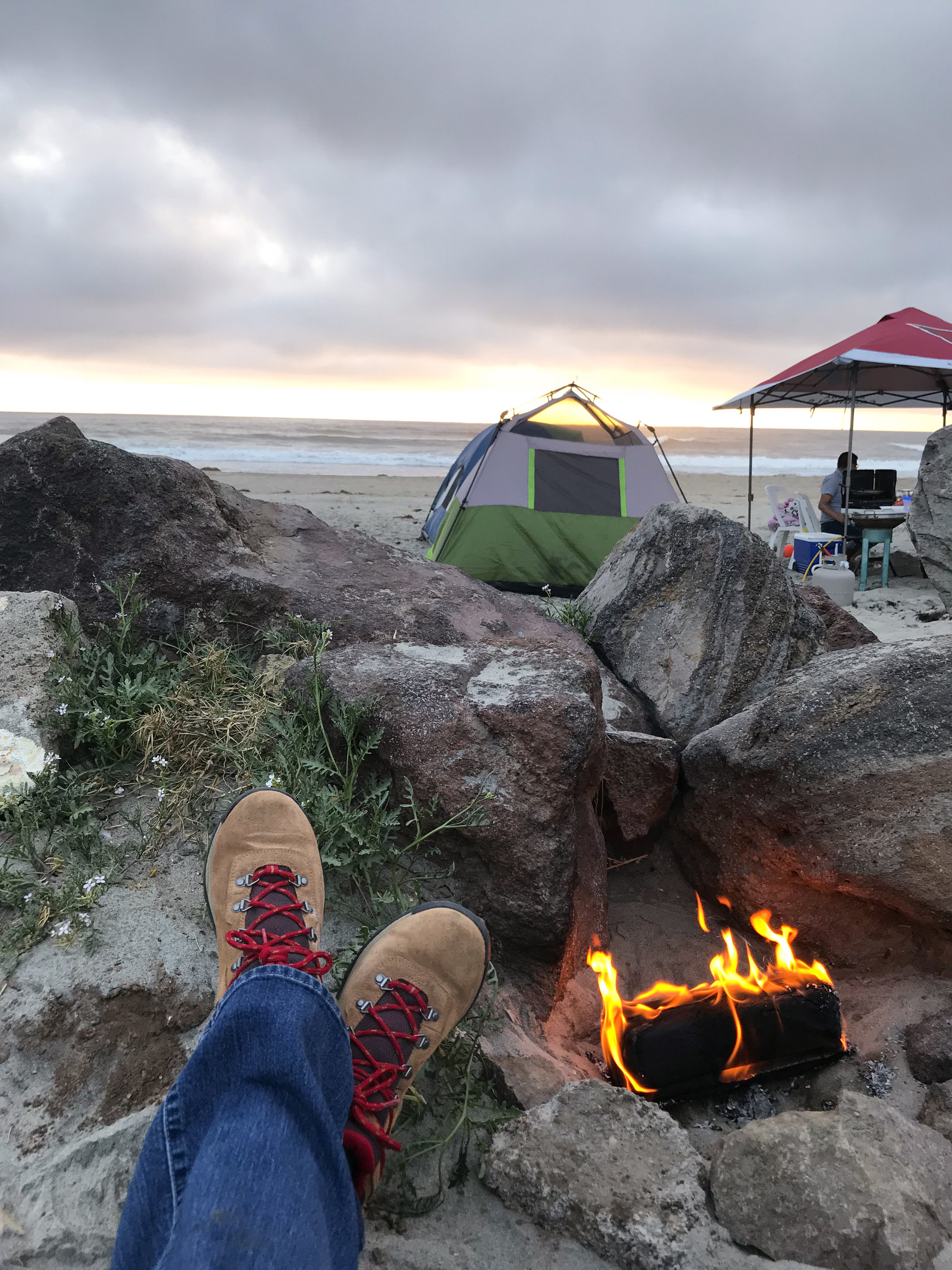"""""""These are the most fun places to camp in the Baja""""  by Casey Sheppard on Travel Stoke"""