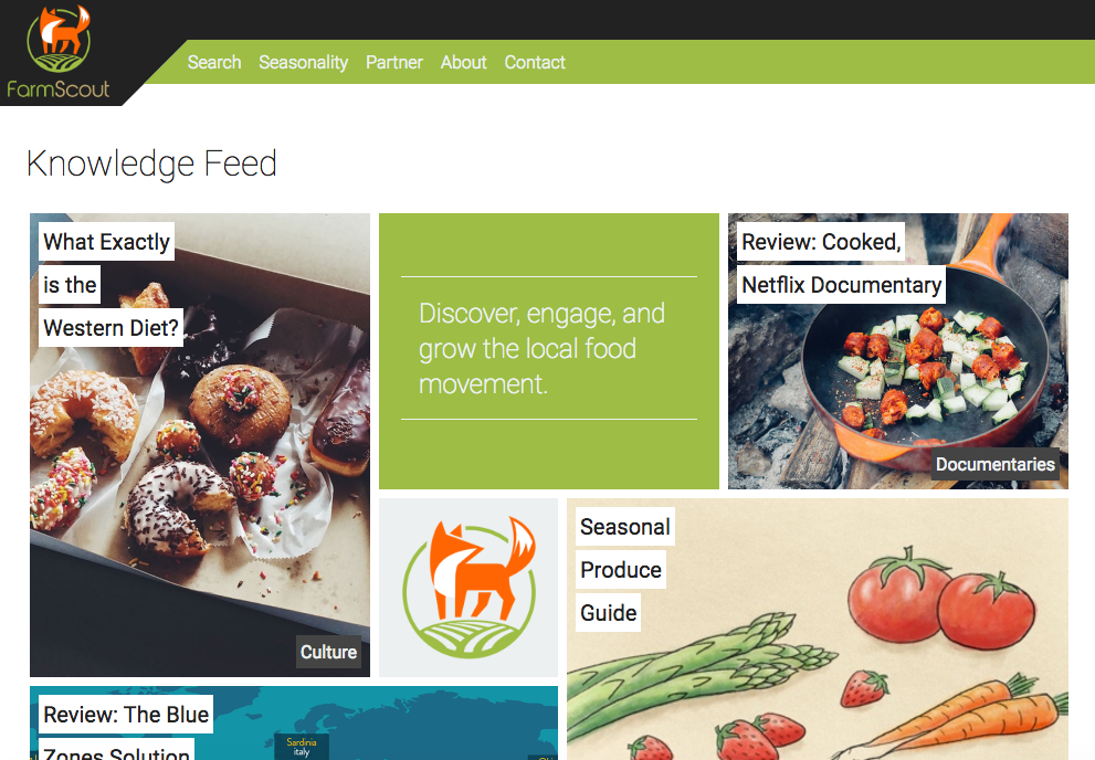 FarmScout Knowledge Feed
