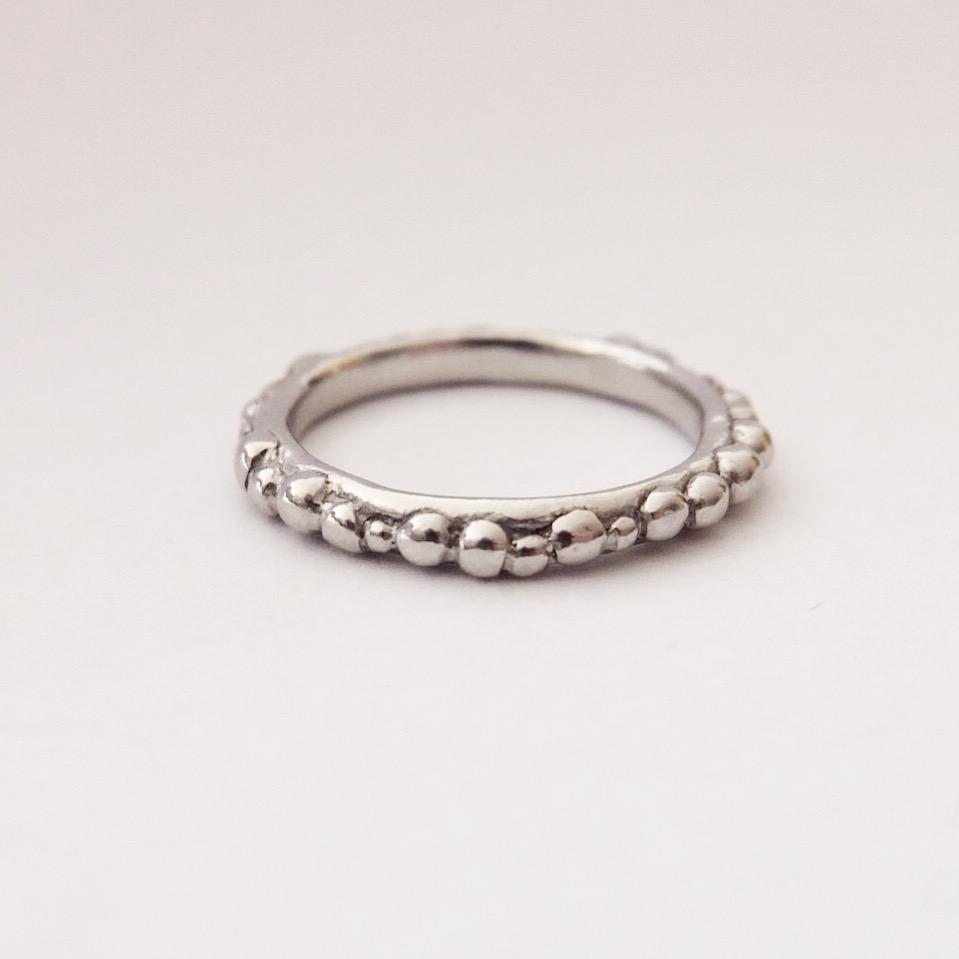 Platinum Granulation Ring