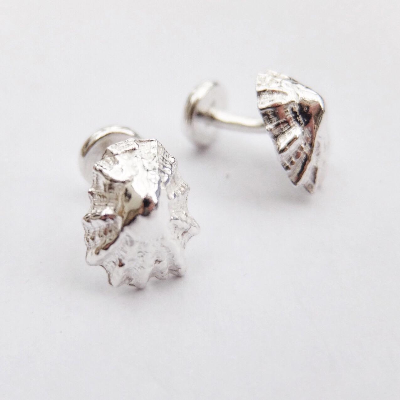 Silver Limpet Cufflinks