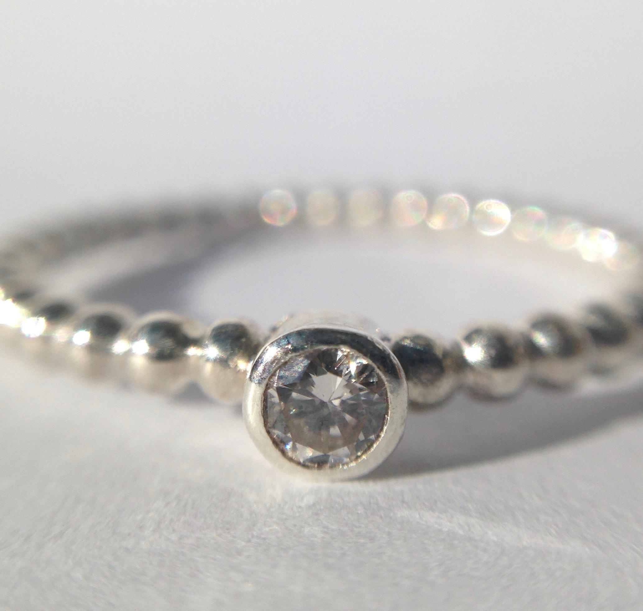 diamond engagement ring uk handmade contemporary sterling silver jewellery handmade in Exeter Devon UK jasmine bowden.jpg