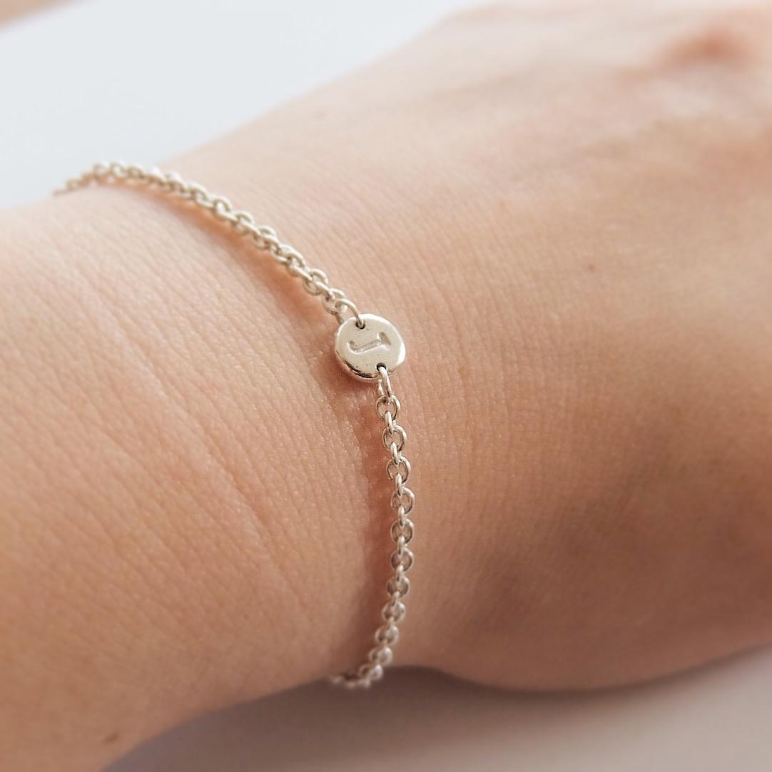 intial chain fine bracelet letter personalised fine jewellery handmade in uk devon exeter jasmine bowden.jpg