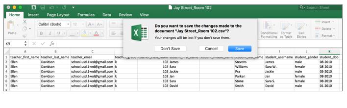 Save File. -