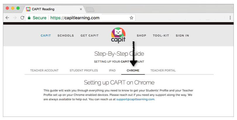 Need to set up CAPIT on Chrome? - Follow our Step-By-Step Guide to Setting up CAPIT on Chrome