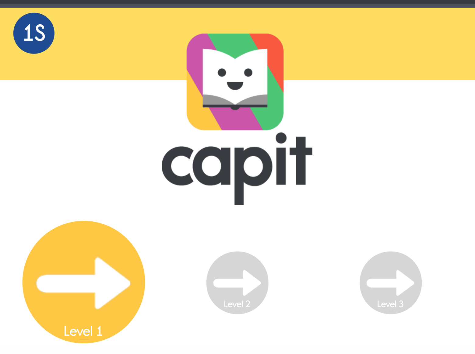 You student's are now ready to begin using CAPIT -