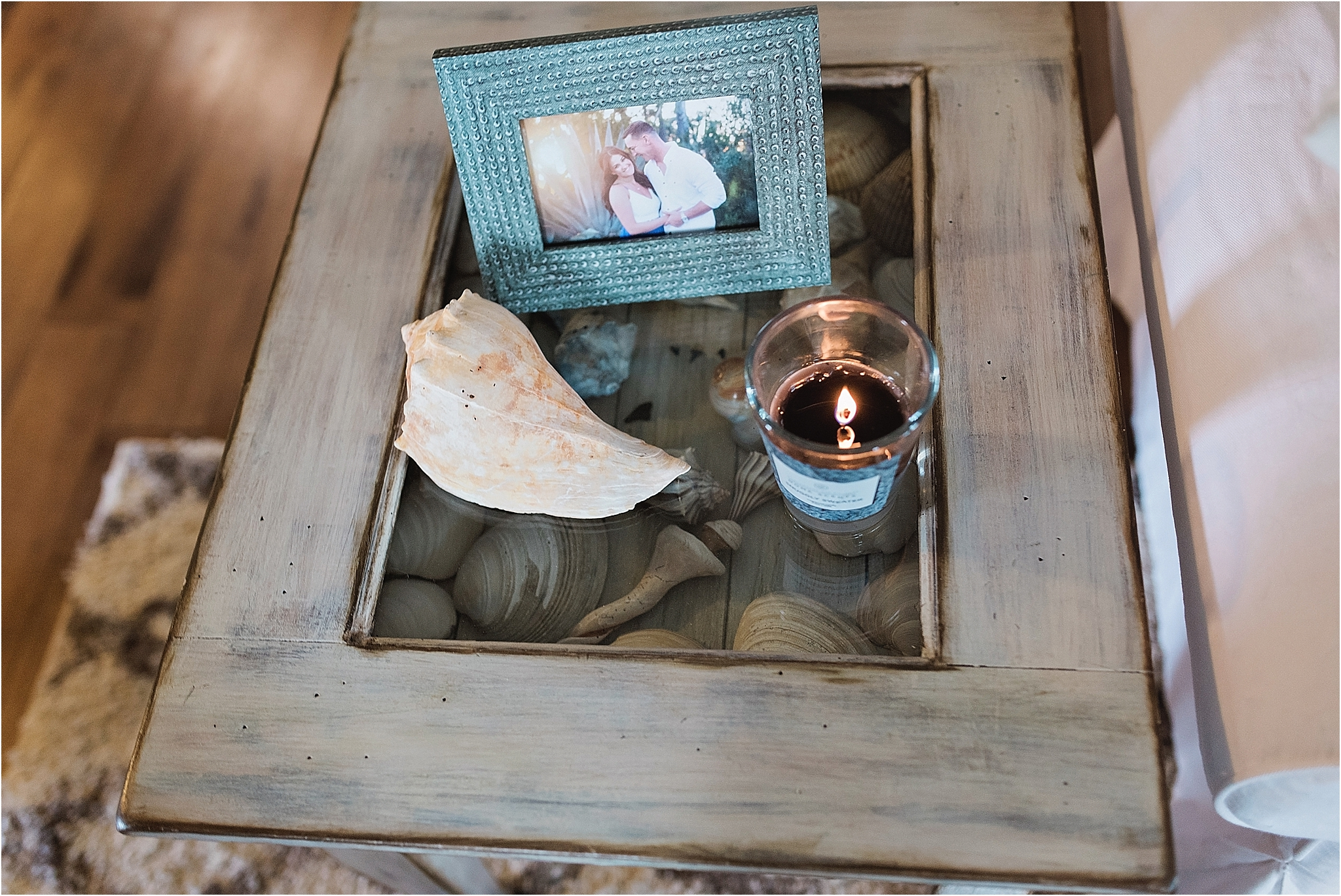 Photo: Kristina Elizabeth Photography  Table: Ponzio Design