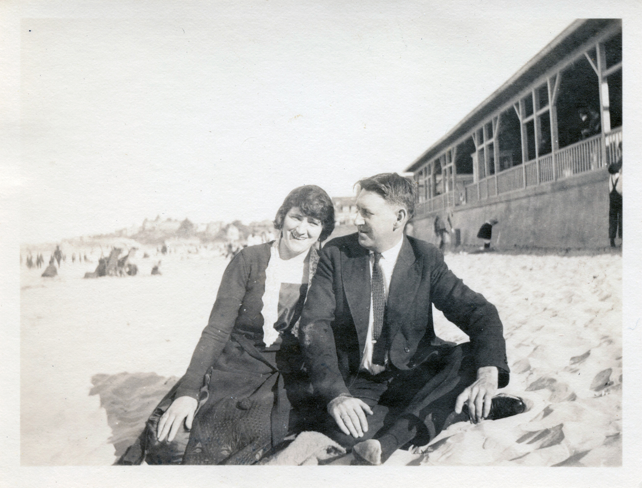 Martha and Albert c1916