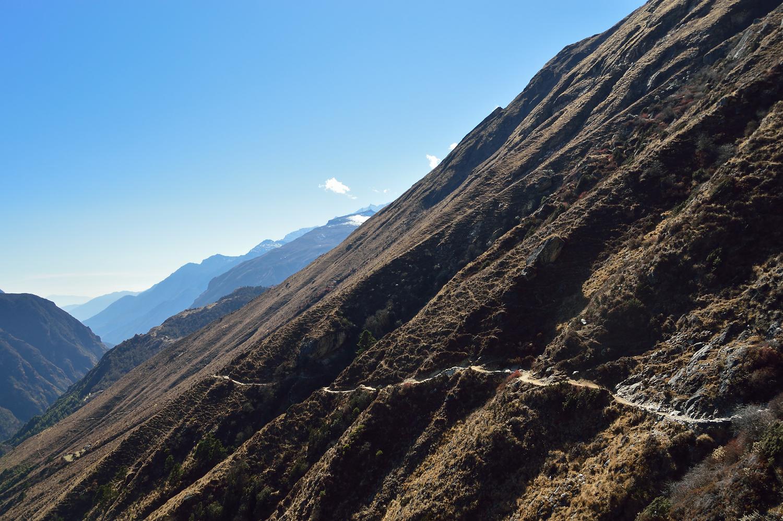 The trail to Gyoko Ri, Nepal