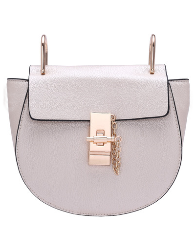 *Note: Chain strap is included. See a bag I own that's similar to this one  here .