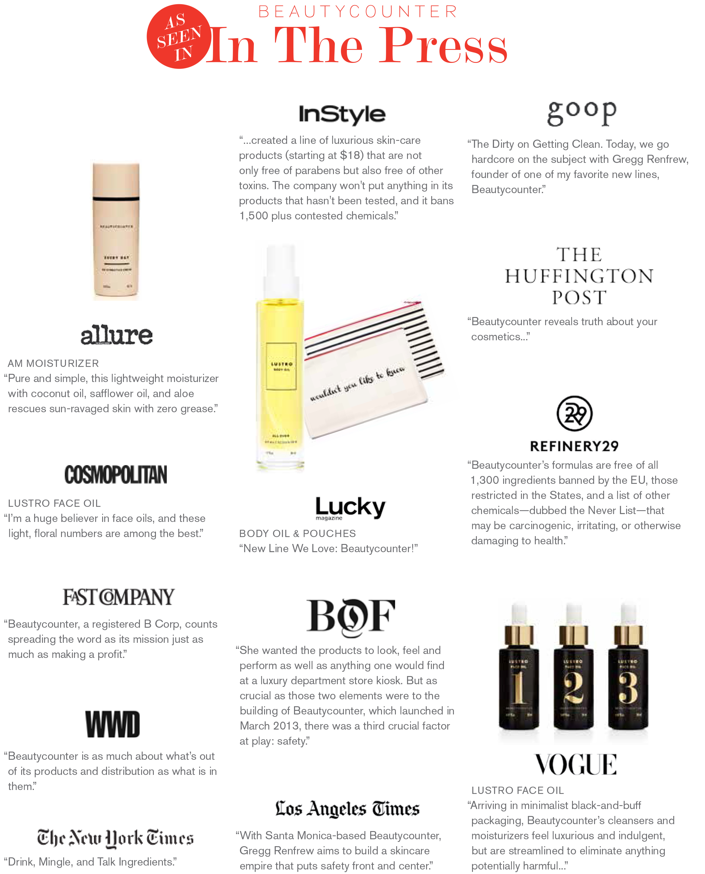*Image supplied by Beautycounter.