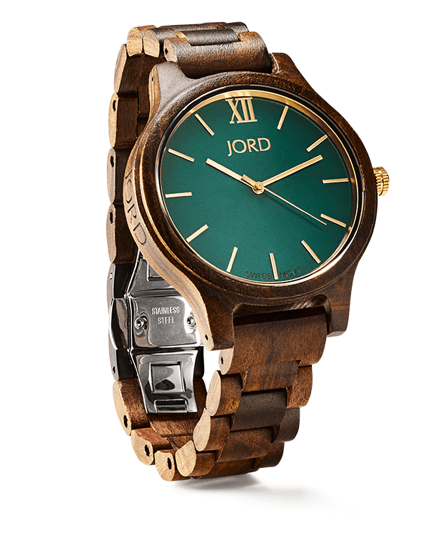 Image Provided by  JORD , watch pictured:  Frankie Series, Dark Sandalwood & Emerald