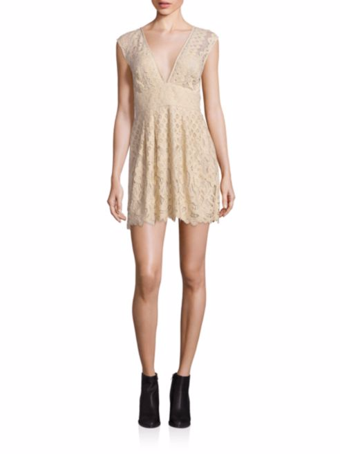 Free People, One Million Lovers Lace Dress