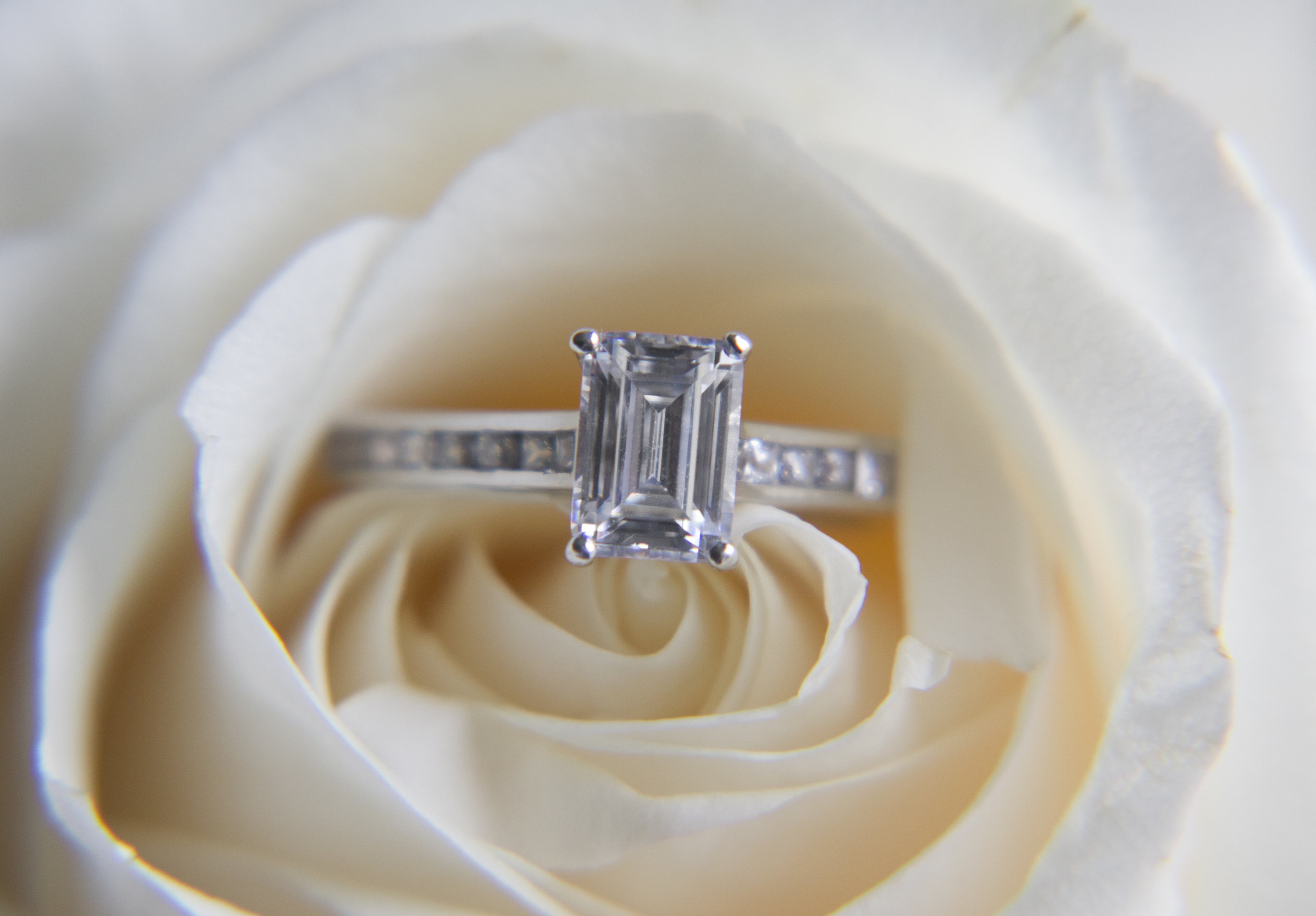 Flowers by  Karrie Hlista Designs . Love the ring? Shop this design and more from  Ritani .
