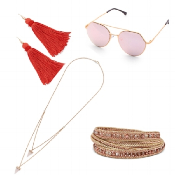 Shop these jewelry pieces from my sponsor,  Rocksbox . And you can find these sunglasses and more over at  Make Me Chic .