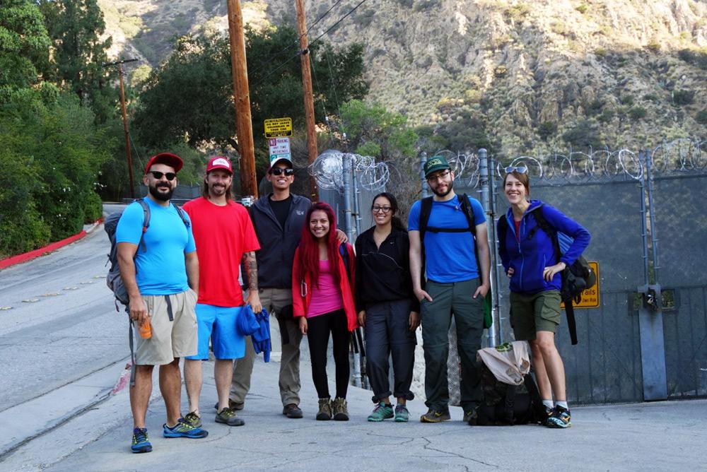 L to R: Jimmy, Gabe, Emilio, Sindy, Steph, Mel, & Melissa