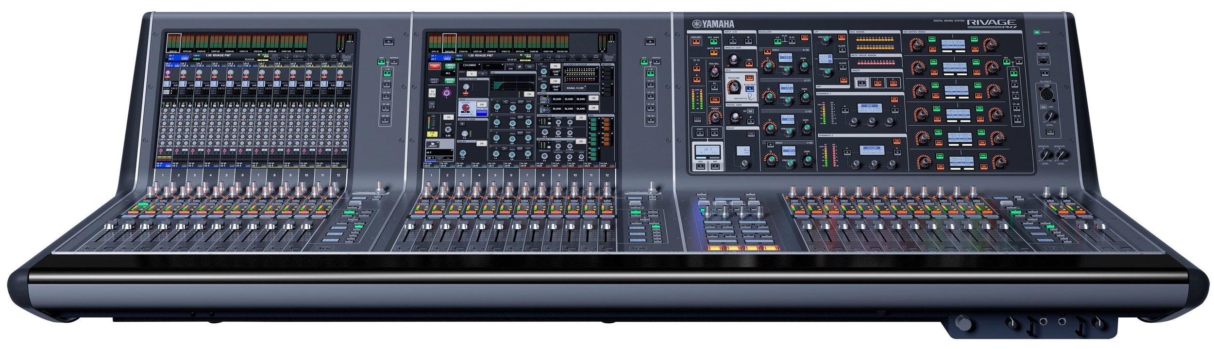 Yamaha PM7 mixing desk