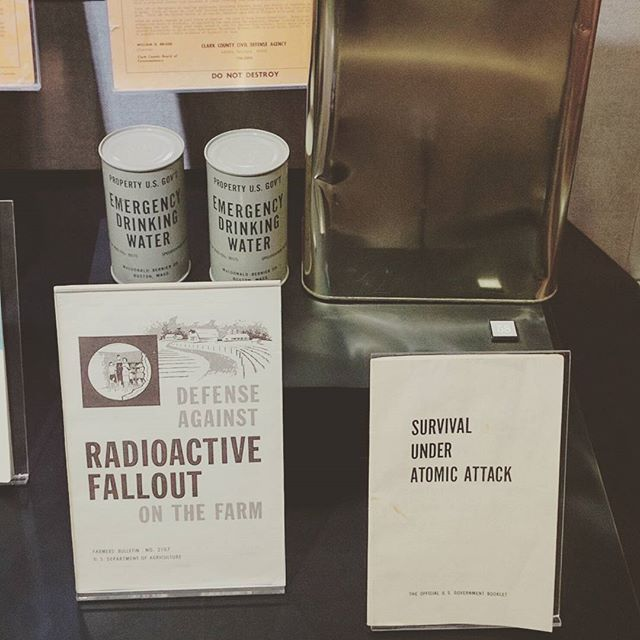 Surviving #Fallout at the Atomic Testing Museum. #nuclear #physics