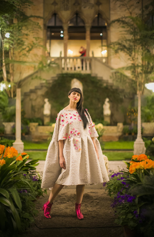 Model: Nicole L'Huillier