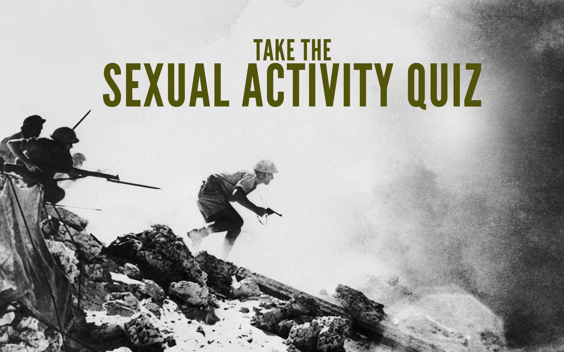 Sexual Activity Quiz