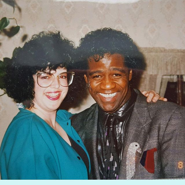 "Today we continue our Grammy gratitude on to our record company, Blue Corn Music, it's fearless leader Denby Auble, and even more fearless side kick, Daria Kelly (who insisted we use this photo of her partying with Al Green in '81). It's been an honor working with you guys on ""North of Despair"" and we truly couldn't have done it without you both. Your hard work, guidance, encouragement, and belief in us is something we really needed. You continue to go along with our crazy ideas (for some reason), and it means the world to us to share this with you and to have you behind us. Thank you so much! Check out some of their other great artists like @rebeccaloebe, @grupofantasma, @ruthiefostermusic, and many others. Let's keep it goin!"