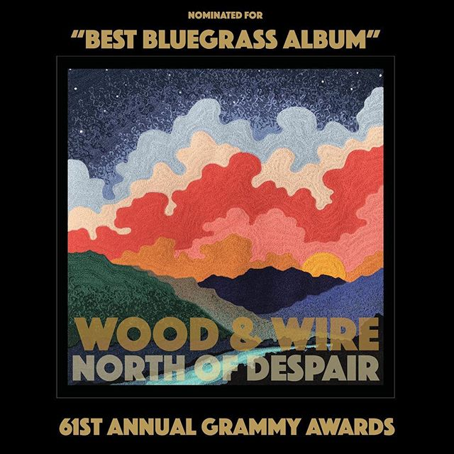 "We're honored to announce that our record ""North of Despair"" on Blue Corn Music has been nominated for a Grammy (along with some other incredible artists). Words escape us at the moment. We're just full of love and gratitude. More to come. Thank you all for the support. We love y'all!"