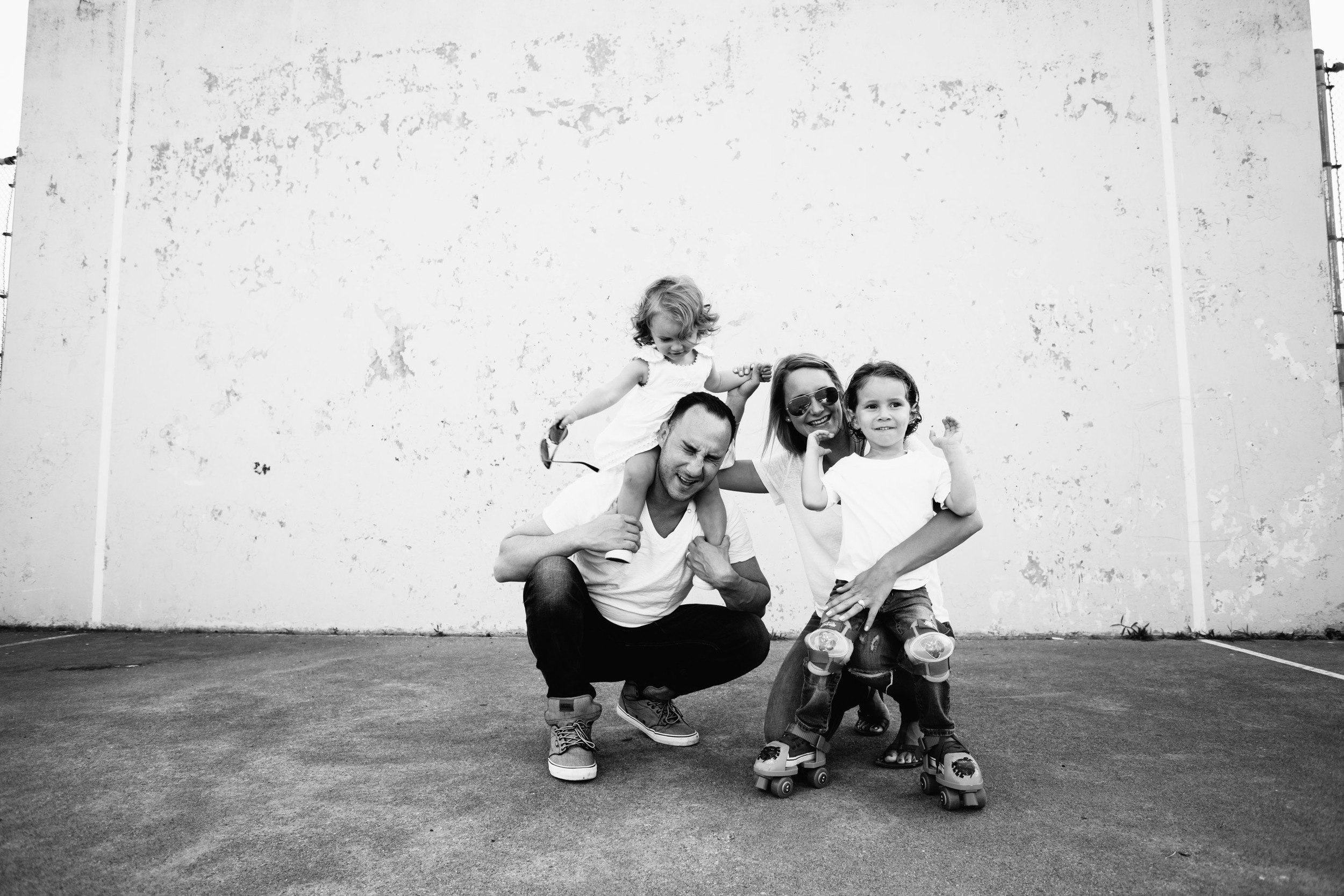 documentary style family photo session