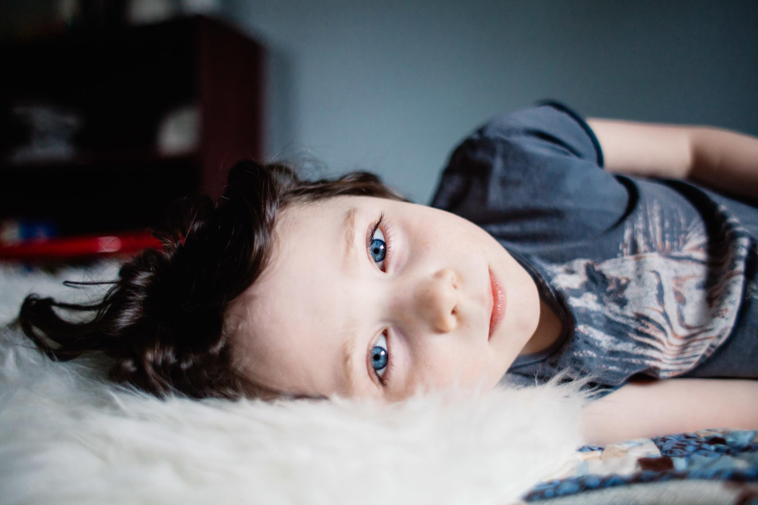 blue eyes | boy | child portrait