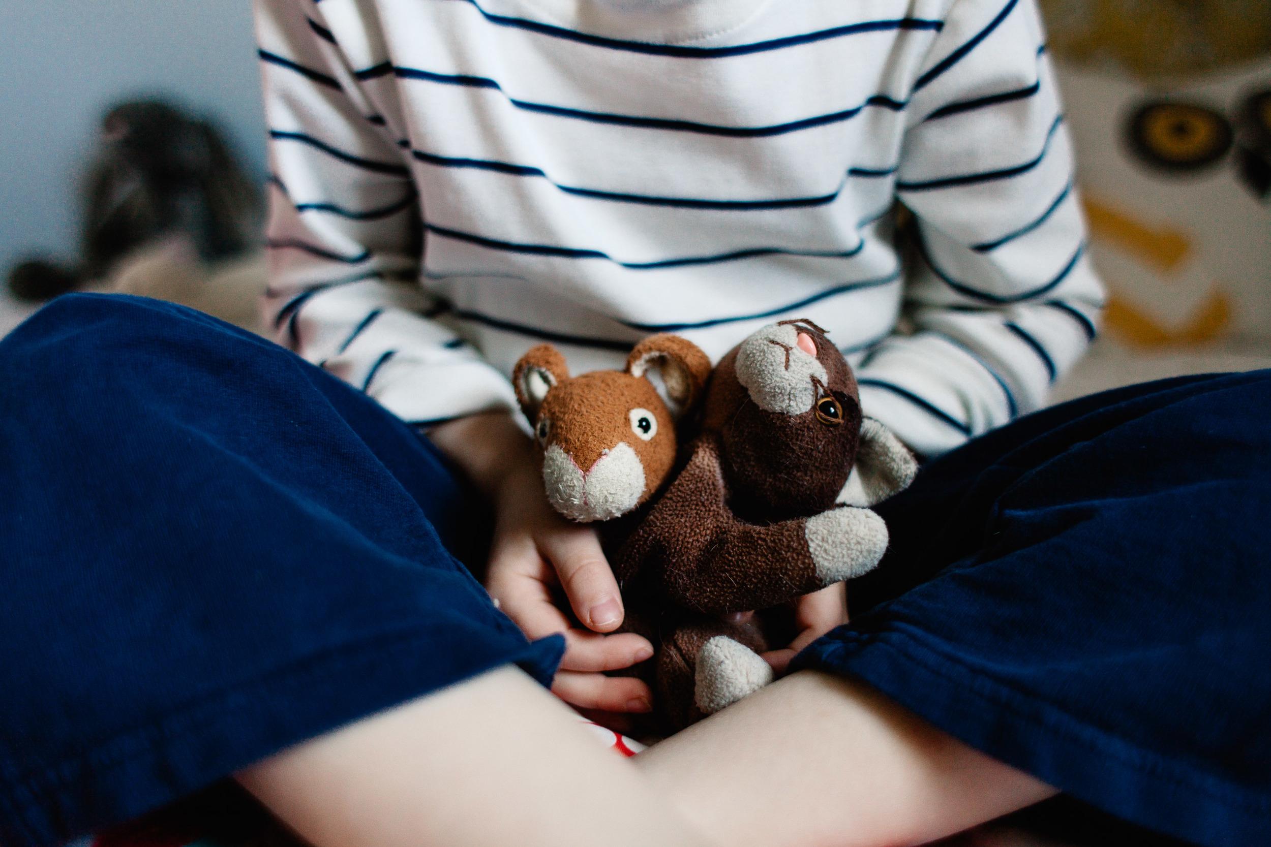 beanie babies | lovie | lovey | security blanket | worn toys