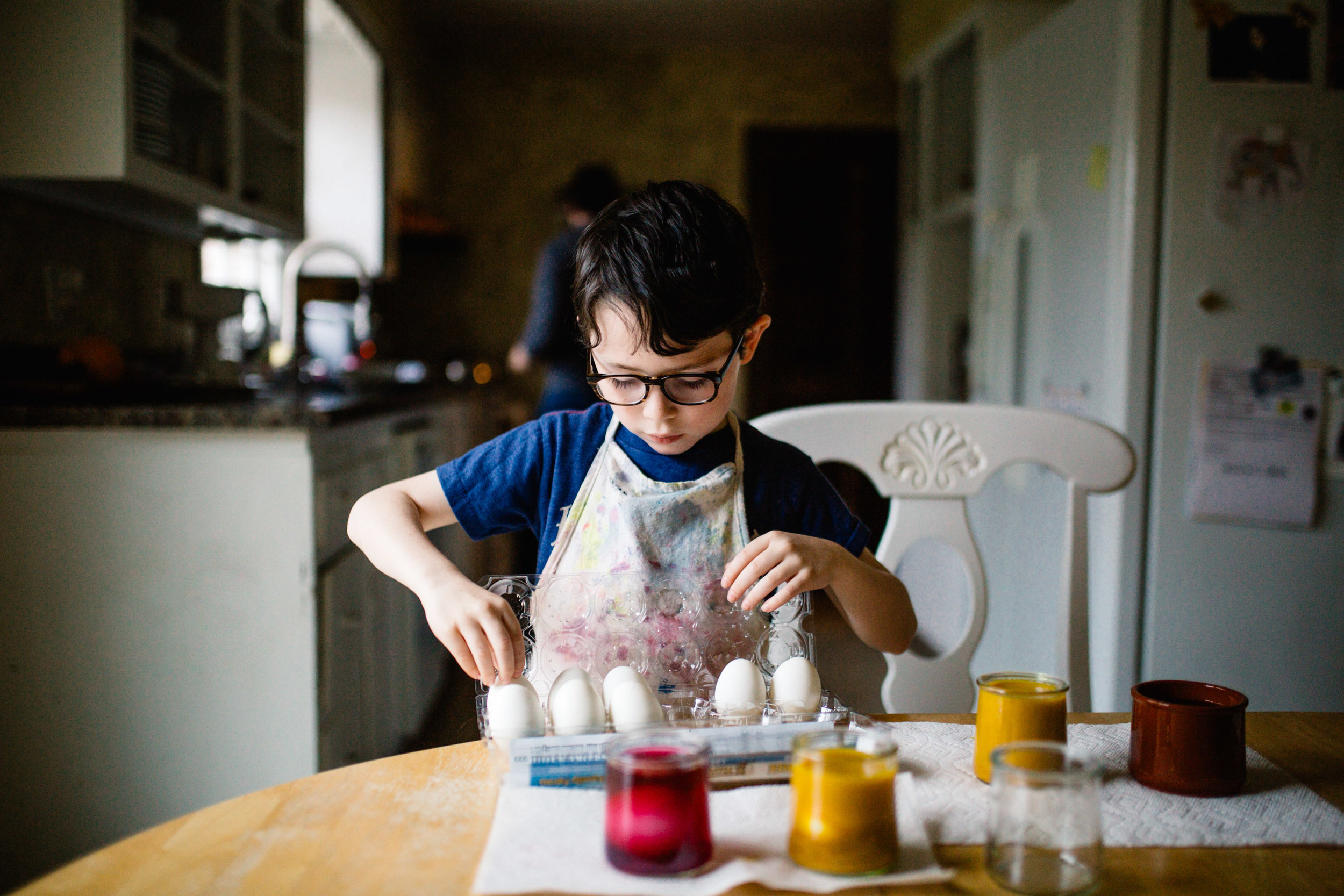 365 Project | Jennifer Tippett Photography | lifestyle photographer - dying Easter eggs naturally