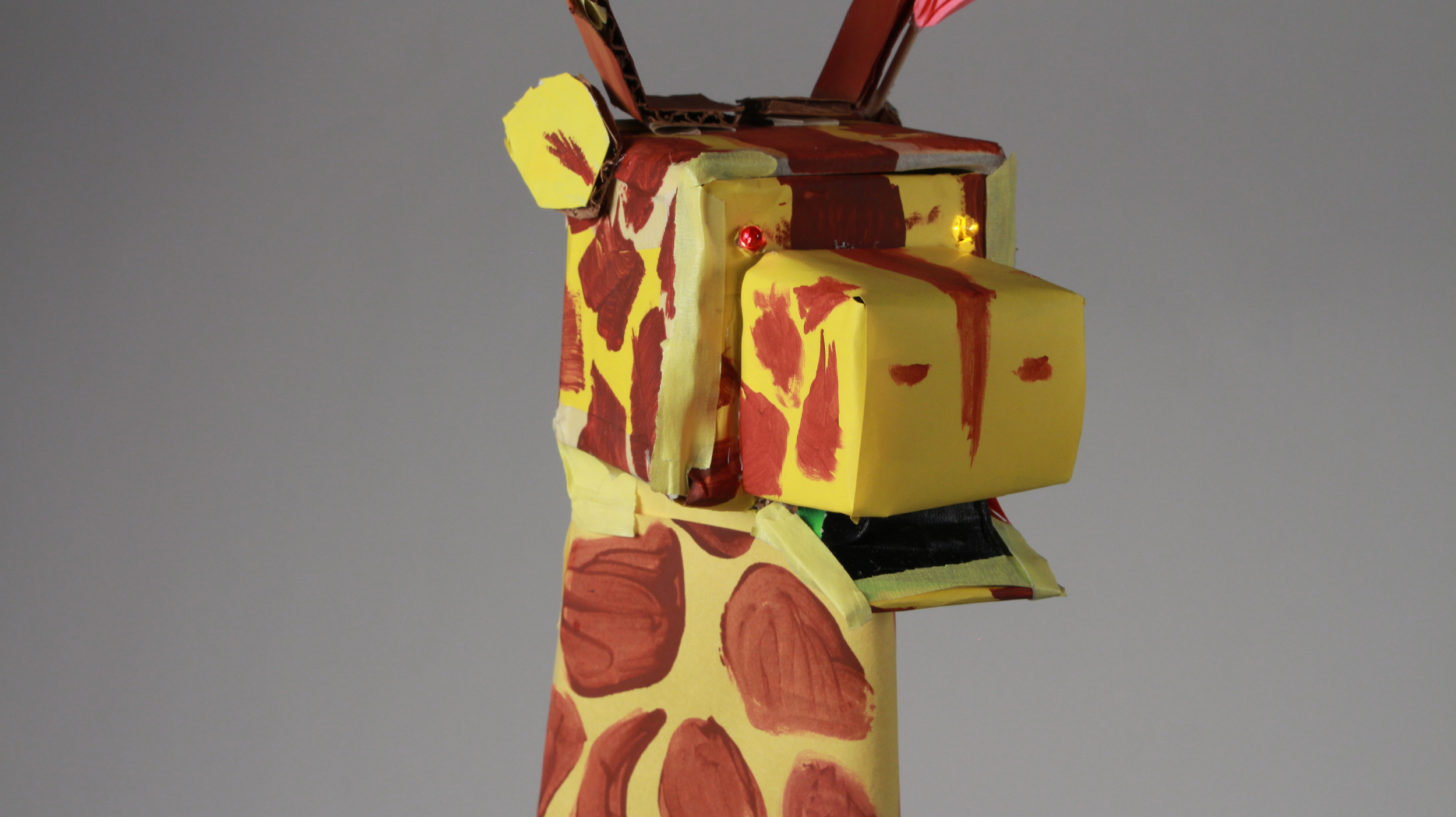 Giraffe. Designed by Connie, Dorothy & Kyra