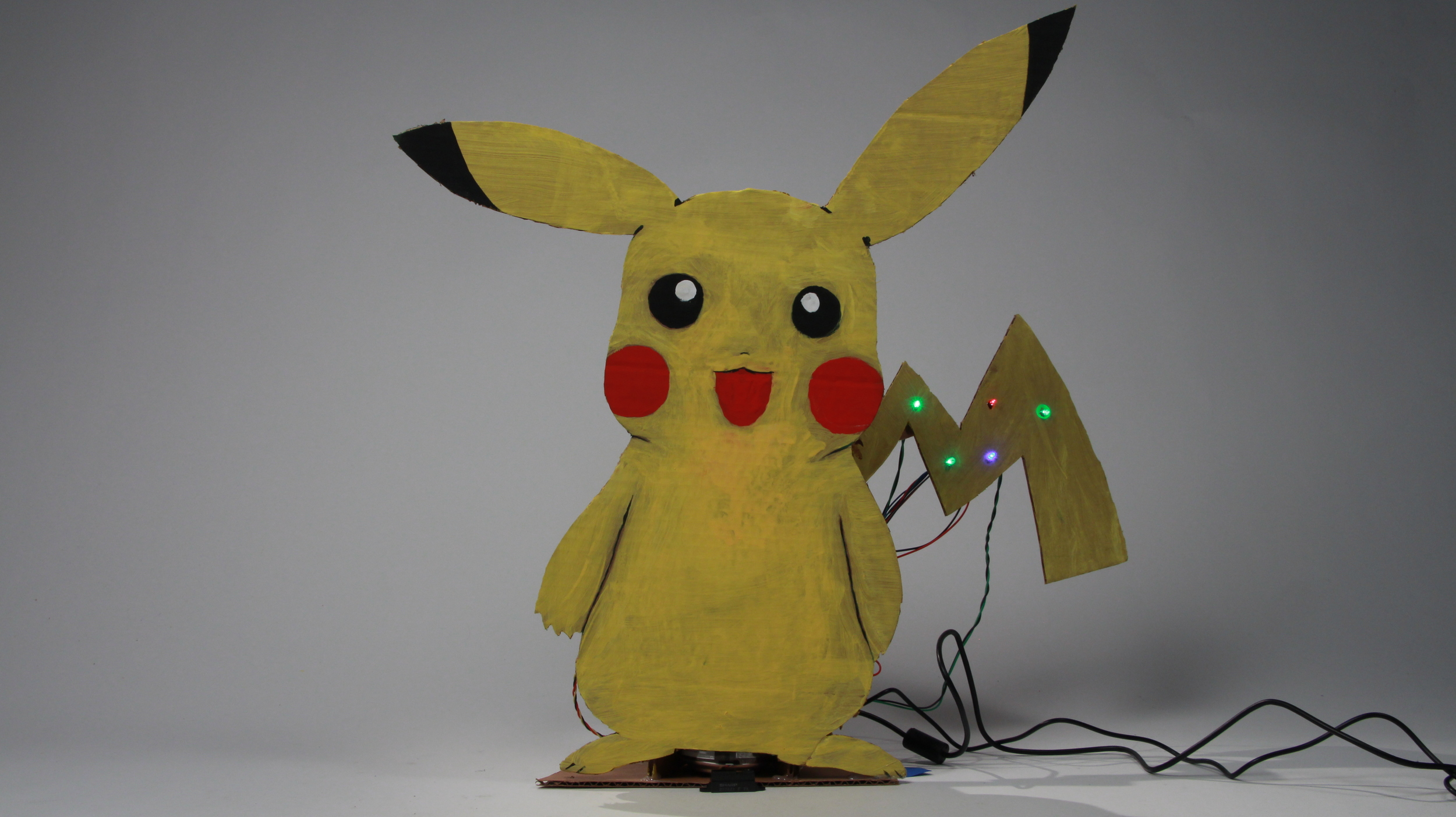 Picachu. Designed by Cameron