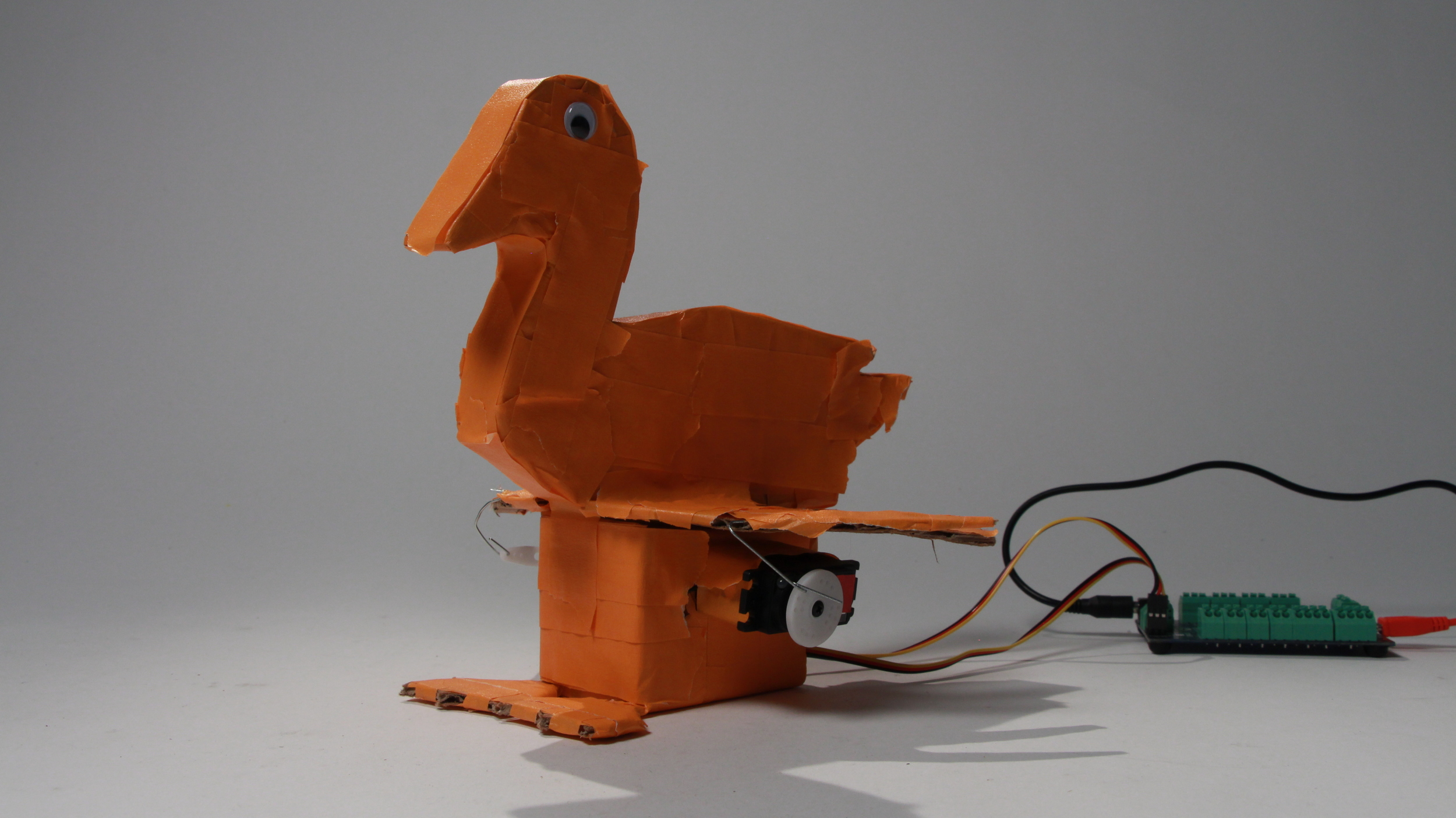 Duck. Designed by Nick & Ricardo