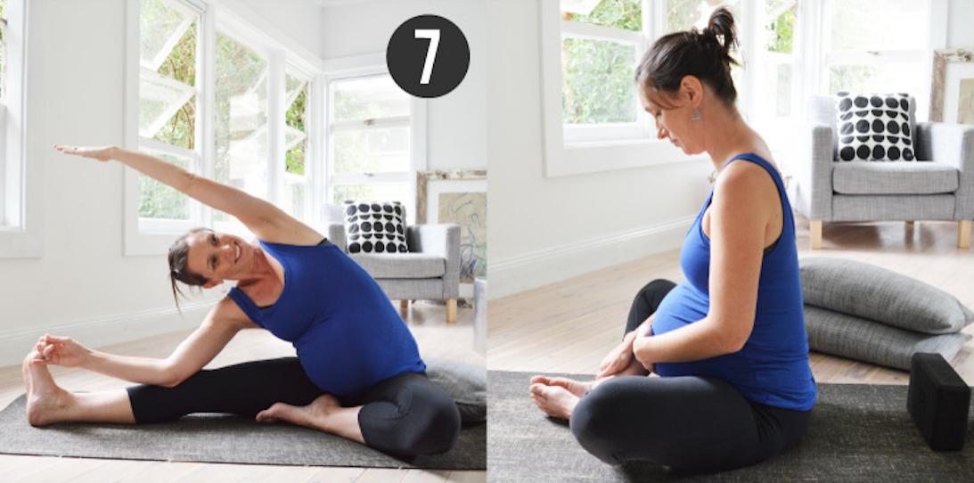 Stretch & Glow Prenatal Yoga Meditation