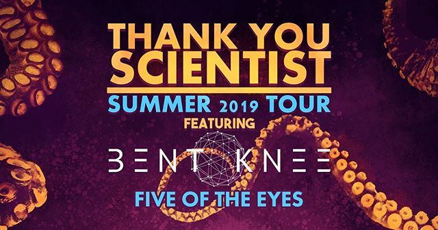 This is gonna be sweet! Honored to be on the bill @portcitymusichall with @thankyouscientist and @bentkneemusic. Ticket link in bio.