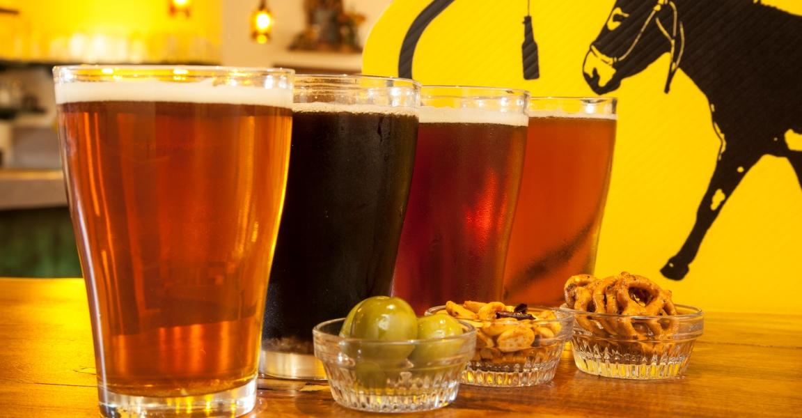 Baja Brewing Beers on tap