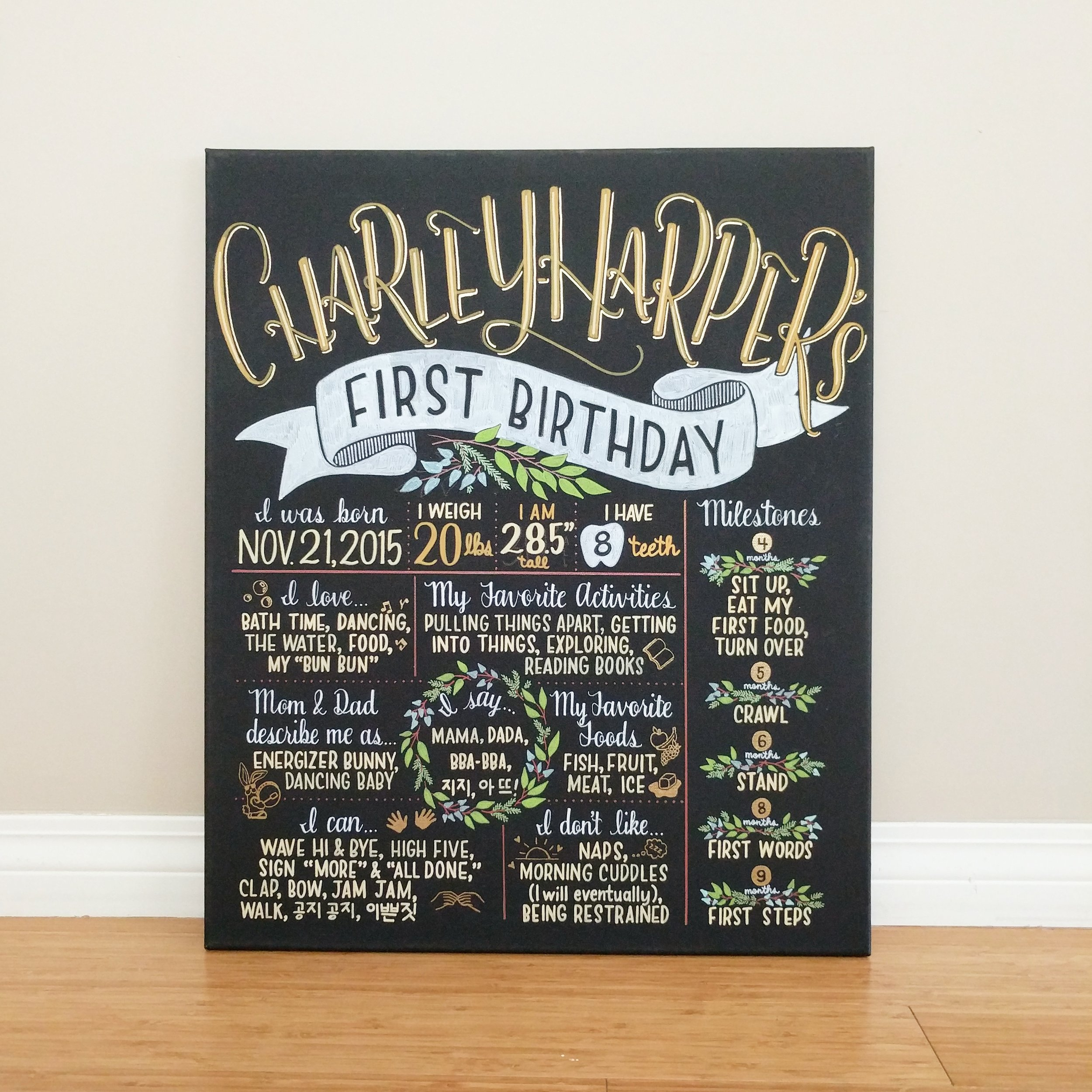 Charley-Harper's First Birthday Board.jpg