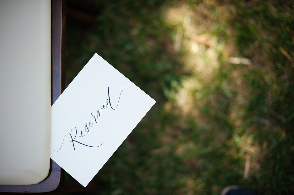 Wedding Calligraphy Reserved Sign.jpg