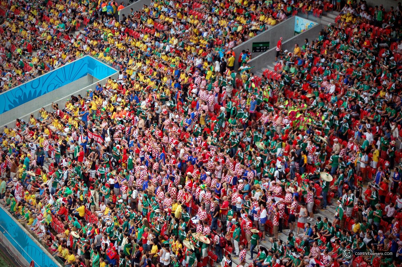 Mexico vs Croatia at 2014 FIFA World Cup Brazil