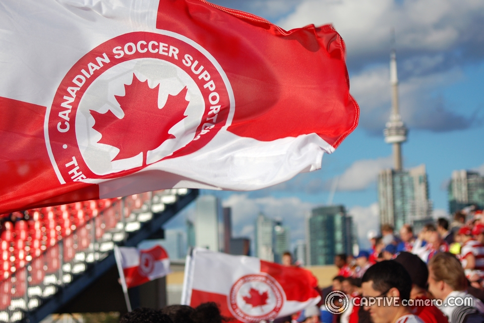 Canada Soccer supporters The Voyageurs