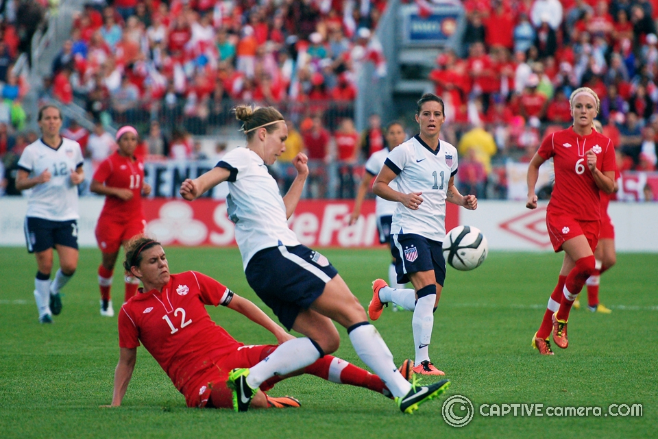 Christine Sinclair is Canada's all time leading goal scorer with 147 goals to her credit.