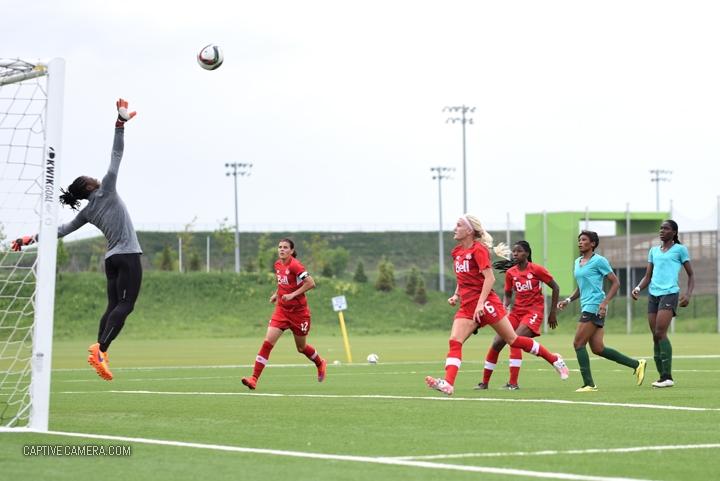 Canada WNT vs Nigeria