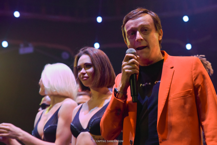 Oct. 1 2015 (Toronto) - Founder Ross Mollison of Australia visits Toronto to celebrate the 1000th Spiegelworld Empire show.