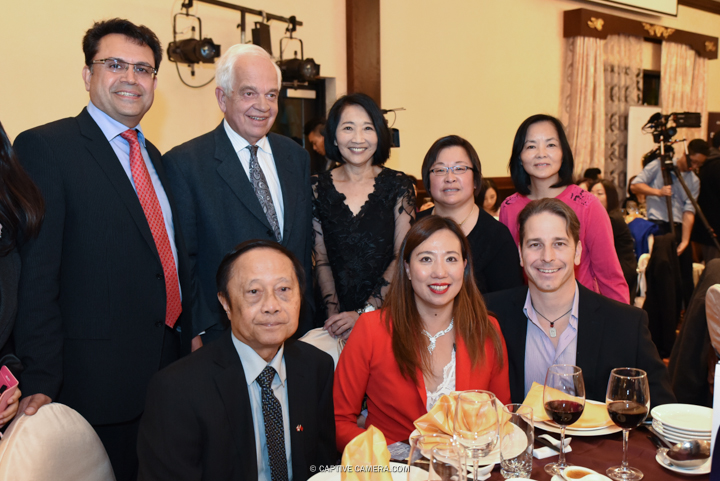 Oct. 9, 2015 (Markham, ON) - Distinguished guests at 109 Taylormade's fashion show Merging Horizons including John McCallum (Liberal Party candidate), Alan Ho (Markham Ward 2 councillor) and Amanda Yeung Collucci (Markham Ward 6 Councillor).