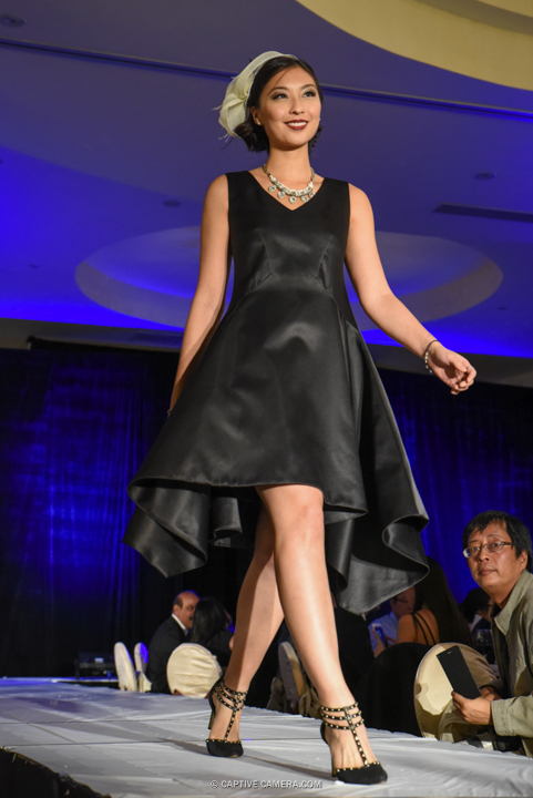 Oct. 9, 2015 (Markham, ON) - A dress from 109 Taylormade collection at Merging Horizons fashion show.