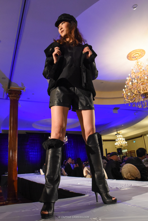 Oct. 9, 2015 (Markham, ON) - An outfit from 109 Taylormade collection at Merging Horizons fashion show.