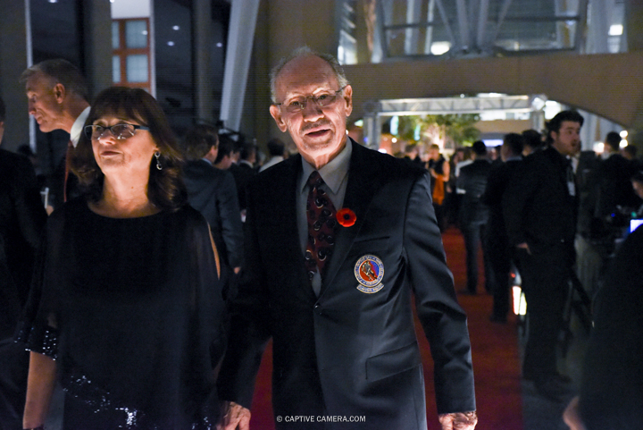 Nov. 9, 2015 (Toronto, ON) - Former NHL player Pierre Pilote on the red carpet to the Hockey Hall of Fame induction ceremony at Brookfield Place, downtown Toronto.