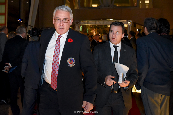 Nov. 9, 2015 (Toronto, ON) - Former NHL player Ron Francis on the red carpet to the Hockey Hall of Fame induction ceremony at Brookfield Place, downtown Toronto.