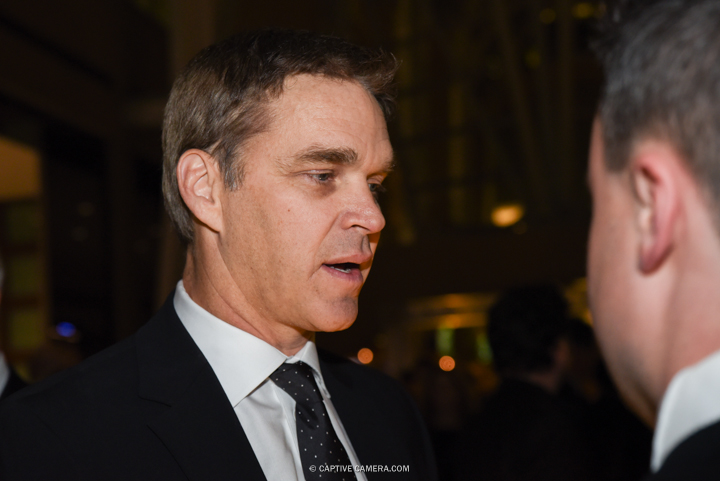Nov. 9, 2015 (Toronto, ON) - Former NHL player Luc Robitaille on the red carpet to the Hockey Hall of Fame induction ceremony at Brookfield Place, downtown Toronto.