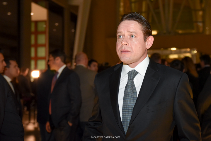 Nov. 9, 2015 (Toronto, ON) - Former NHL player Pavel Bure on the red carpet to the Hockey Hall of Fame induction ceremony at Brookfield Place, downtown Toronto.
