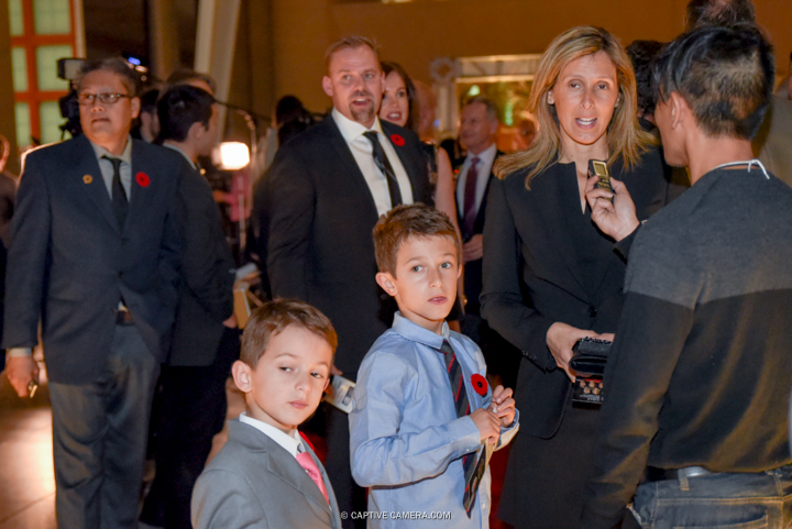 Nov. 9, 2015 (Toronto, ON) - Former Team USA player Cammi Granato on the red carpet to the Hockey Hall of Fame induction ceremony at Brookfield Place, downtown Toronto.